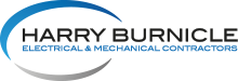 Harry Burnicle Electrical & Mechanical Contractors, incorporating Airco Logo